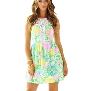 Lilly Pulitzer raegan fit and flare dress size 8